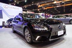 Lexus LS600h bil på expo för Thailand Internationalmotor Royaltyfri Foto