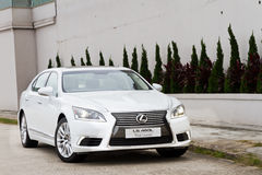Lexus LS 460L Saloon Car Stock Photos