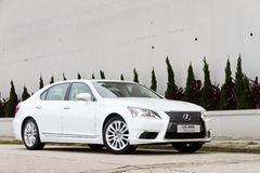Lexus LS 460L Saloon Car Stock Images