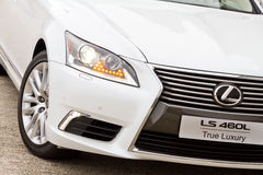 Lexus LS 460L Saloon Car Royalty Free Stock Image