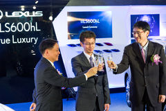 Lexus LS Media Event Stock Photography