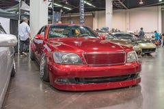 Lexus LS 400 på skärm Royaltyfria Bilder
