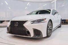Lexus LS su esposizione immagine stock libera da diritti