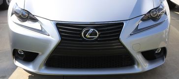 Lexus Front End. Lexus is the luxury vehicle division of Japanese car maker Toyota Royalty Free Stock Image