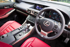 Lexus IS 350 2013 Model Sport Sedan Stock Photo