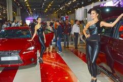 Lexus Moscow International Automobile Salon Photographie stock libre de droits