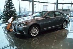 Lexus novo LS 600h Fotografia de Stock Royalty Free