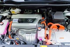 Lexus NX 300h Hybrid Engine Royalty Free Stock Photos