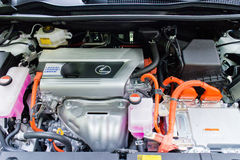 Lexus NX 300h hybrydu silnik Zdjęcia Royalty Free
