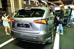 Lexus NX Turbo display during the Singapore Motorshow 2016 Royalty Free Stock Images