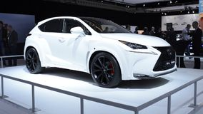 Lexus NX by Will.i.am crossover SUV concept stock video