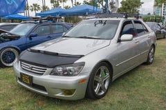 Lexus IS 2004 op vertoning Royalty-vrije Stock Afbeeldingen