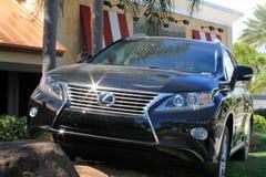 Lexus-oversteekplaats SUV Stock Foto