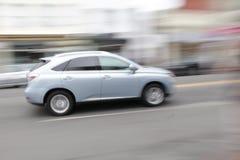 Lexus på flyttningen Royaltyfria Bilder