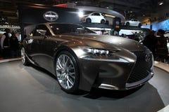 Lexus pojęcie CIAS 2013 Zdjęcia Stock