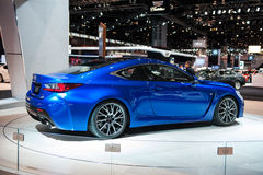Lexus R-F at the Chicago Auto Show Stock Photo