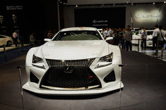 Lexus Racing on 2014 CDMS Royalty Free Stock Photography