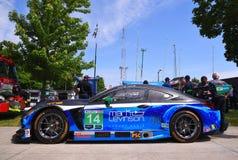 Lexus Racing su Belle Isle a Detroit Fotografie Stock Libere da Diritti