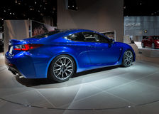 Lexus 2014 RC F Photographie stock
