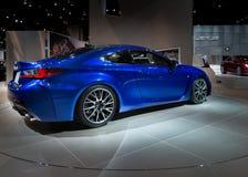 Lexus 2014 RC F Arkivbild