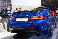 Lexus RC F at the IAA 2015 Royalty Free Stock Photography