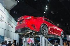 Lexus RC 350 op vertoning Royalty-vrije Stock Fotografie
