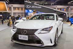 Lexus RC200t  car at Thailand International Motor Expo 2016 Stock Images