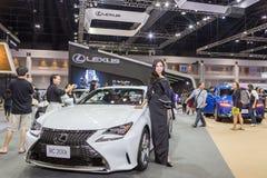 Lexus RC200t samochód przy Tajlandia zawody międzynarodowi silnika expo 2016 Fotografia Royalty Free