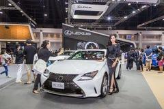 Lexus RC200t samochód przy Tajlandia zawody międzynarodowi silnika expo 2016 Zdjęcia Royalty Free