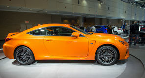 Lexus RCF in CIAS Stock Foto