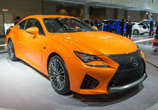 Lexus RCF in the CIAS Stock Photos