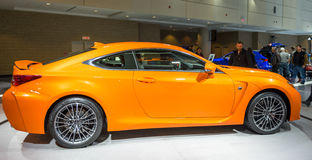 Lexus RCF in the CIAS Royalty Free Stock Photo
