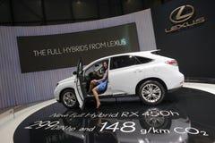 Lexus RX 450h Hybrid - 2009 Geneva Motor Show Royalty Free Stock Photography