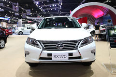 Lexus RX 270 car on display Royalty Free Stock Photo