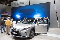 Lexus RX450h Hybrid SUV at the IAA 2015 Royalty Free Stock Photos
