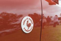 Lexus Sriracha É emblema na exposição Imagem de Stock