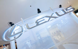 Lexus storein pawilonu centrum handlowe, Kuala Lumpur Zdjęcie Royalty Free