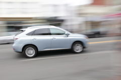 Lexus sur le mouvement Images libres de droits