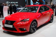 Lexus IS 200t car Royalty Free Stock Photo