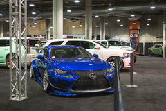 Lexus tuning on display Royalty Free Stock Photo