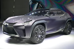 LEXUS UX concept SUV Royalty Free Stock Photo