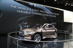 Lexus Vehicles 2018 novo na exposição na feira automóvel internacional norte-americana Imagem de Stock Royalty Free