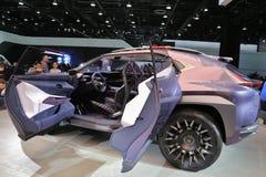 Lexus Vehicles 2018 novo na exposição na feira automóvel internacional norte-americana Fotos de Stock