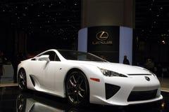 Lexus ZAS Supercar - salone dell'automobile 2010 di Ginevra Immagine Stock Libera da Diritti