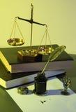 Ley Imagen de archivo libre de regalías