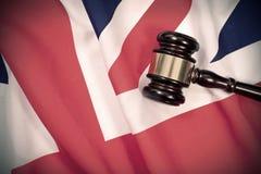 Ley BRITÁNICA Fotografía de archivo libre de regalías