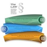 Ley de la guía de la presentación de la plantilla del elemento del diseño Fotografía de archivo libre de regalías