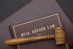 Ley de las propiedades inmobiliarias Foto de archivo libre de regalías