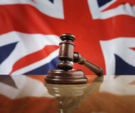 Ley de Reino Unido Foto de archivo libre de regalías