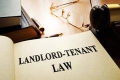 ley del Propietario-arrendatario Fotografía de archivo libre de regalías